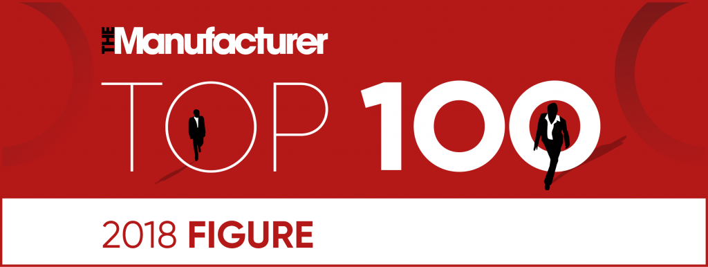 Top 100 at the Manufacturing awards 2018